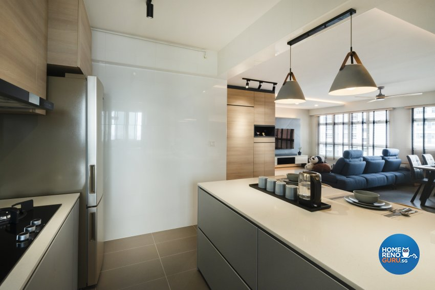 Contemporary, Modern Design - Kitchen - HDB 4 Room - Design by Great Oasis Interior Design
