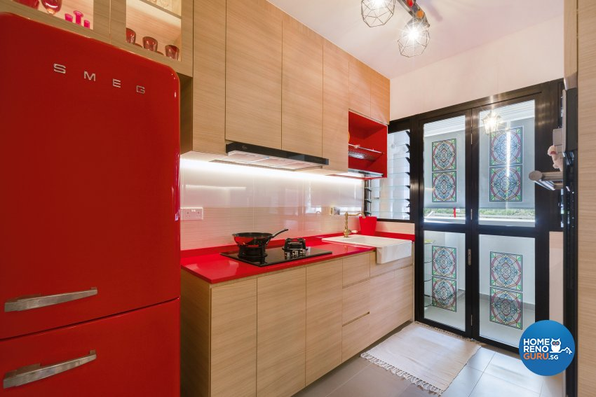 Others Design - Kitchen - HDB 4 Room - Design by Great Oasis Interior Design