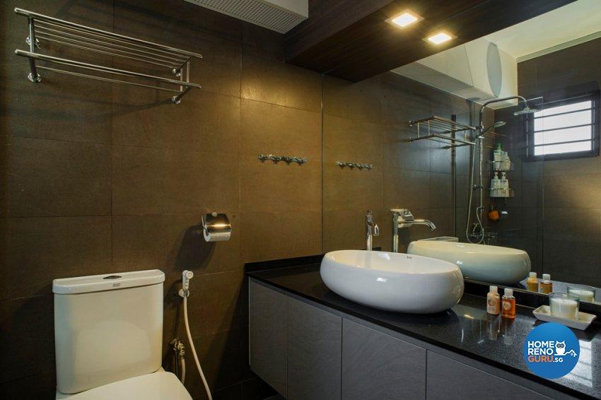Contemporary, Modern Design - Bathroom - HDB 5 Room - Design by Great Oasis Interior Design
