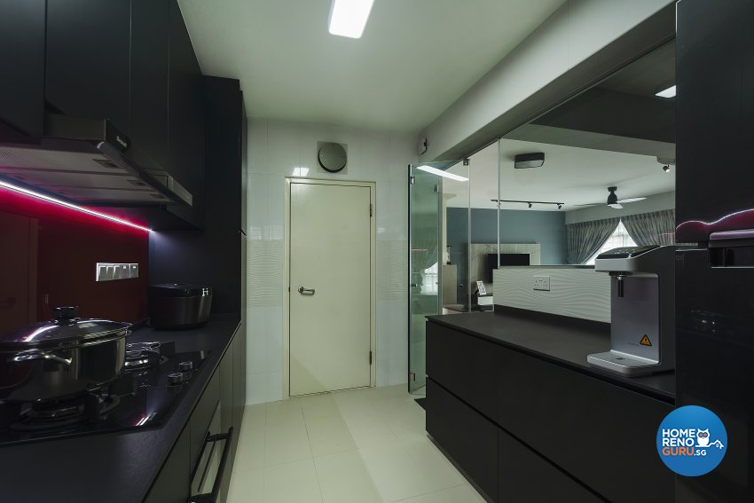 Modern Design - Kitchen - HDB 5 Room - Design by Great Oasis Interior Design