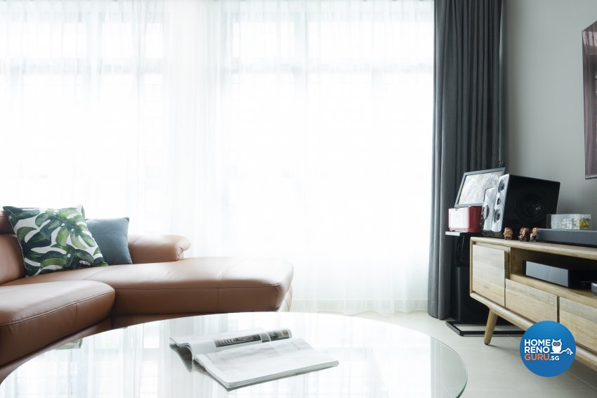 Contemporary, Modern, Tropical Design - Living Room - HDB 5 Room - Design by Great Oasis Interior Design