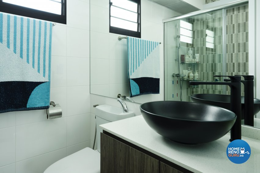 Contemporary, Modern, Tropical Design - Bathroom - HDB 5 Room - Design by Great Oasis Interior Design