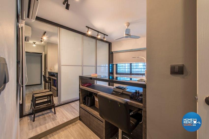 Modern Design - Bedroom - HDB 4 Room - Design by GSID
