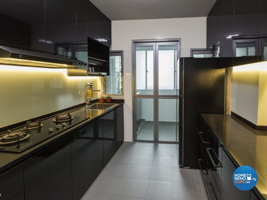 Modern Design - Kitchen - HDB 4 Room - Design by GSID