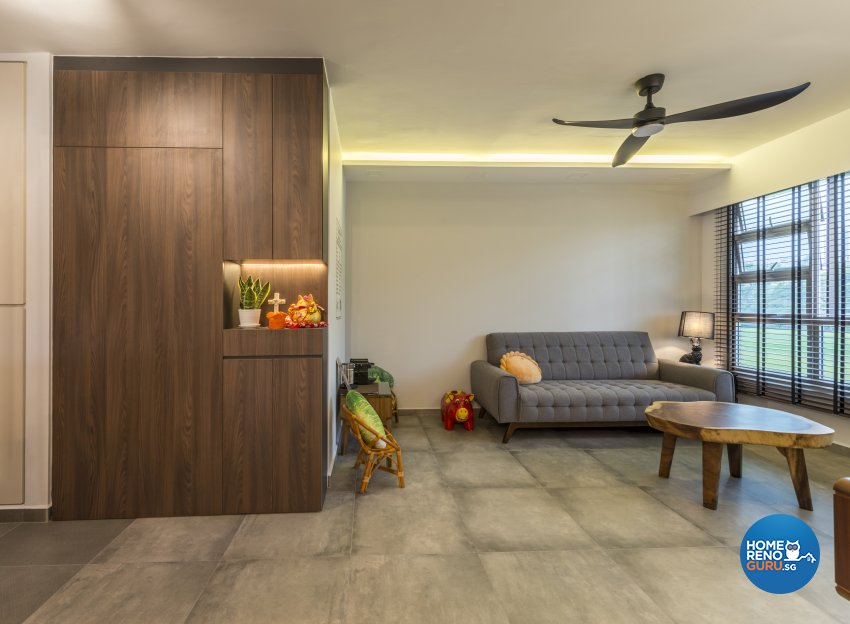 Industrial, Minimalist Design - Living Room - Others - Design by GV Design & Construction