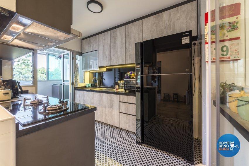 Industrial, Minimalist Design - Kitchen - Others - Design by GV Design & Construction