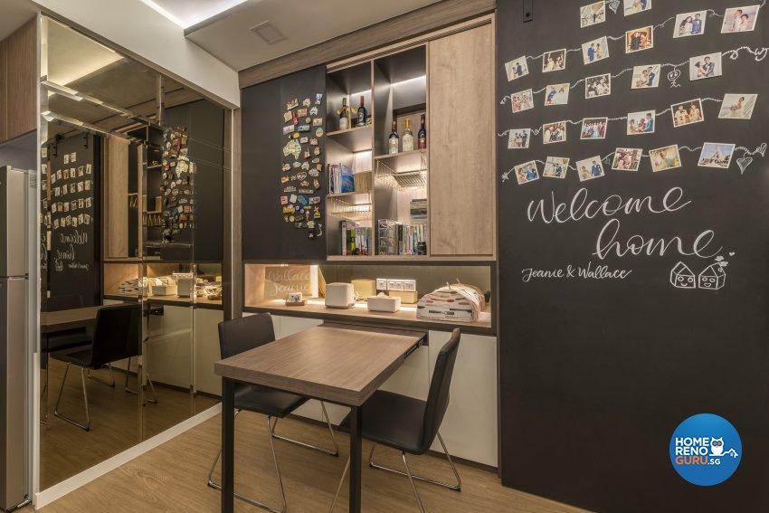 Minimalist Design - Living Room - Condominium - Design by GV Design & Construction