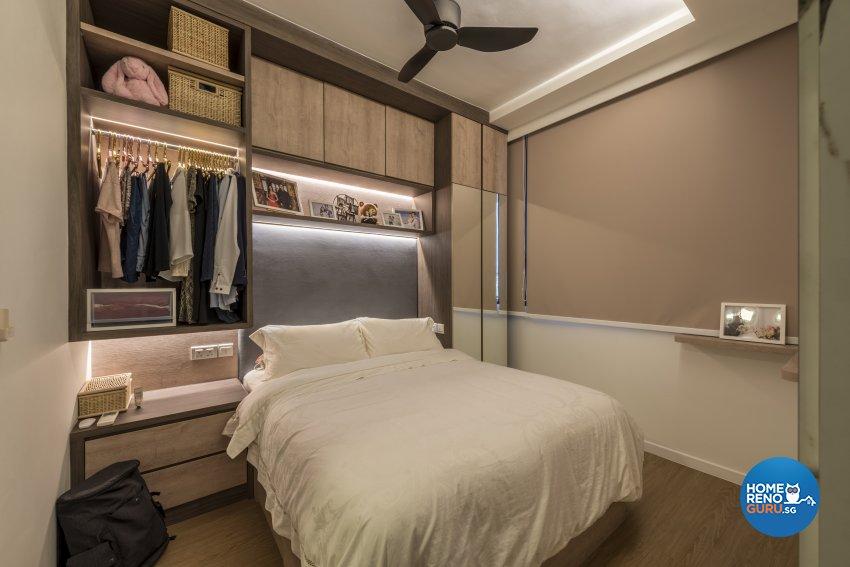 Minimalist Design - Bedroom - Condominium - Design by GV Design & Construction