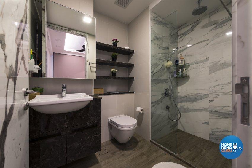 Minimalist Design - Bathroom - Condominium - Design by GV Design & Construction