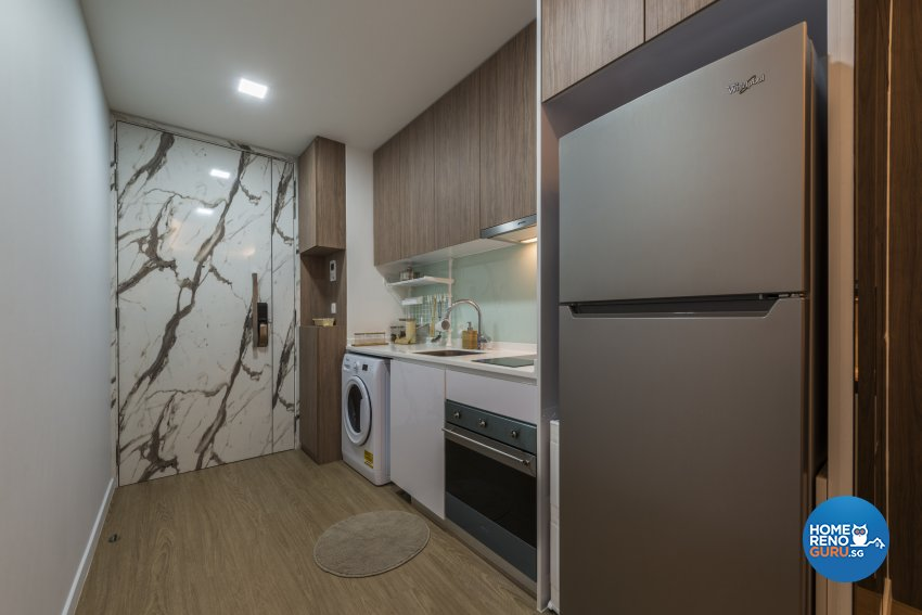 Minimalist Design - Kitchen - Condominium - Design by GV Design & Construction