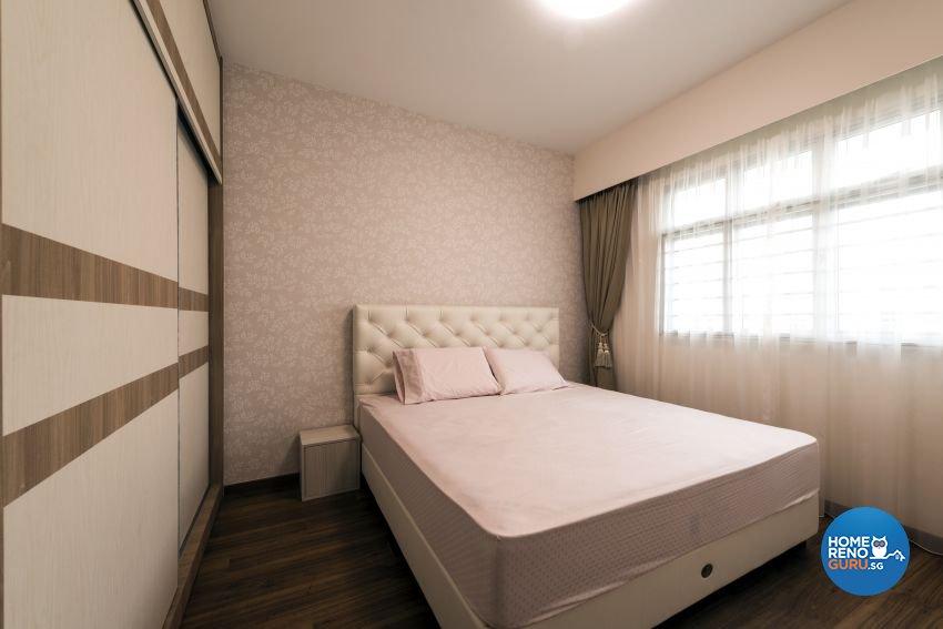 Minimalist Design - Bedroom - HDB 5 Room - Design by GV Design & Construction