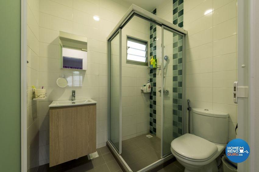 Minimalist Design - Bathroom - HDB 5 Room - Design by GV Design & Construction