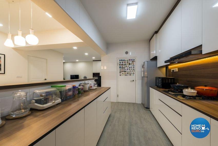 Minimalist Design - Kitchen - HDB 5 Room - Design by GV Design & Construction