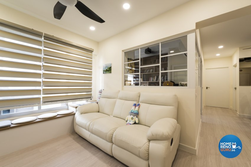 Minimalist, Scandinavian Design - Living Room - HDB 4 Room - Design by GV Design & Construction