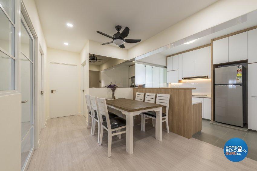 Minimalist, Scandinavian Design - Dining Room - HDB 4 Room - Design by GV Design & Construction