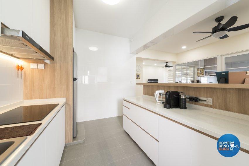 Minimalist, Scandinavian Design - Kitchen - HDB 4 Room - Design by GV Design & Construction