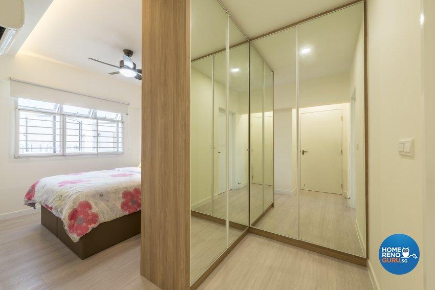 Minimalist, Scandinavian Design - Bedroom - HDB 4 Room - Design by GV Design & Construction