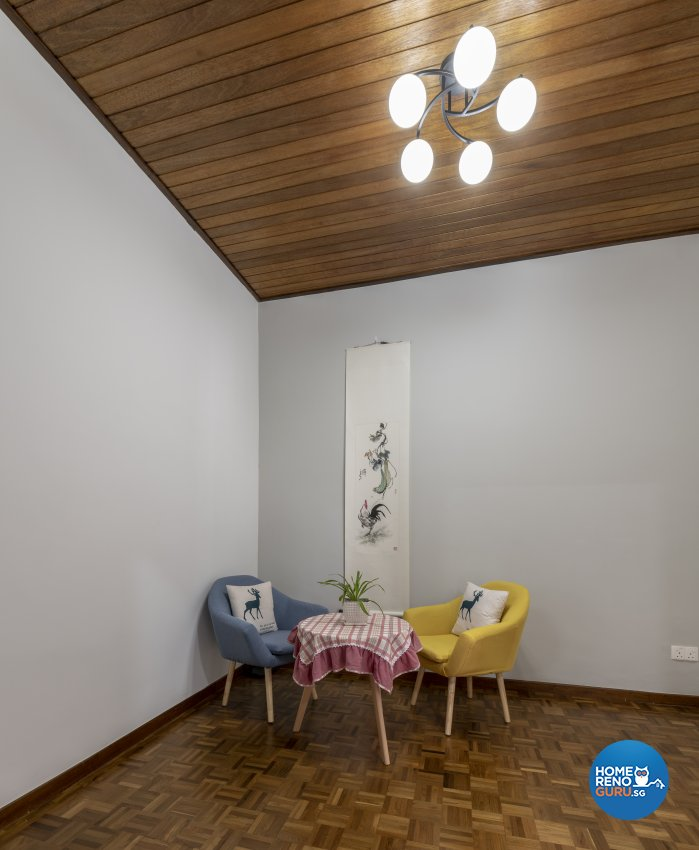 Classical, Minimalist Design - Entertainment Room - Landed House - Design by GV Design & Construction