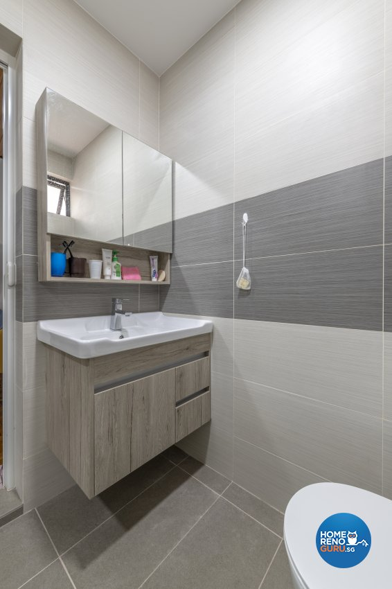 Classical, Minimalist Design - Bathroom - Landed House - Design by GV Design & Construction