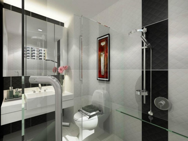 Classical, Contemporary, Modern Design - Bathroom - HDB 4 Room - Design by HabitatOne Concepts
