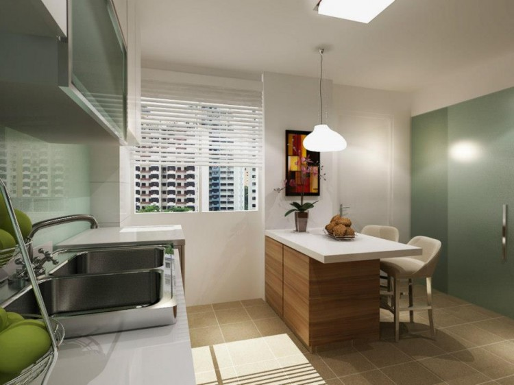 Classical, Contemporary, Modern Design - Kitchen - HDB 4 Room - Design by HabitatOne Concepts