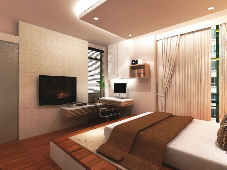 Classical, Contemporary, Modern Design - Bedroom - HDB 4 Room - Design by HabitatOne Concepts
