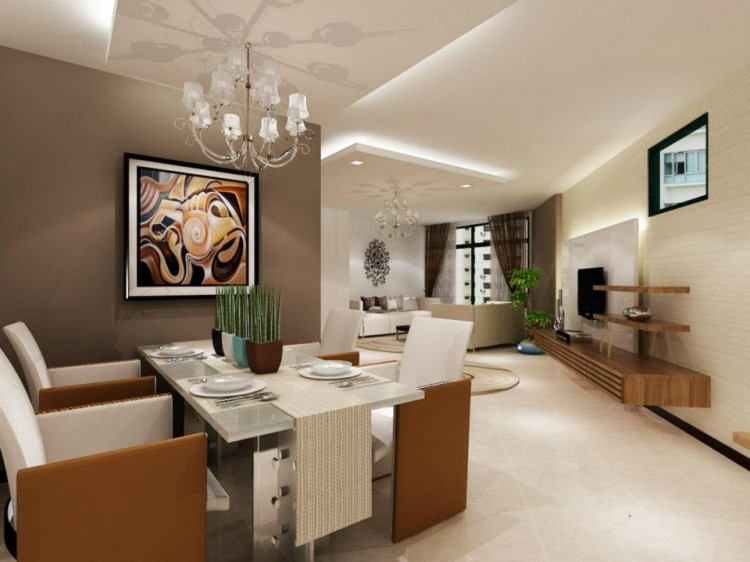 Classical, Contemporary, Modern Design - Dining Room - HDB 4 Room - Design by HabitatOne Concepts