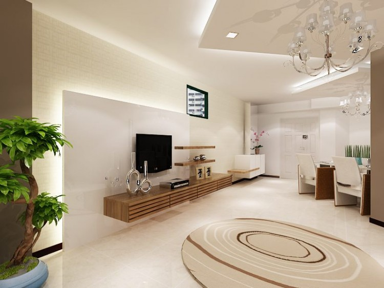 Classical, Contemporary, Modern Design - Living Room - HDB 4 Room - Design by HabitatOne Concepts