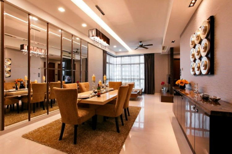Contemporary, Modern Design - Dining Room - Condominium - Design by HabitatOne Concepts
