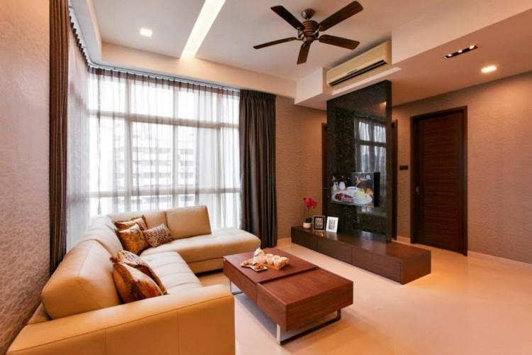 Contemporary, Modern Design - Living Room - Condominium - Design by HabitatOne Concepts