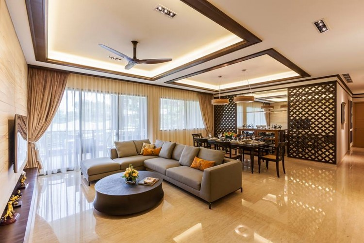 Contemporary, Modern, Resort Design - Living Room - Condominium - Design by HabitatOne Concepts