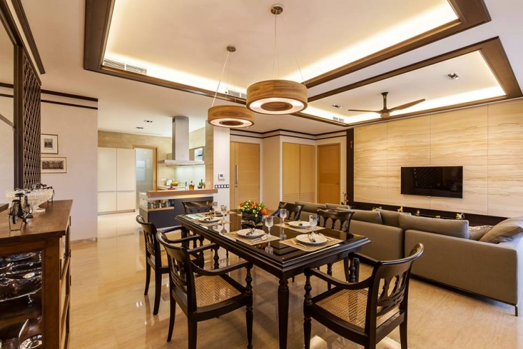 Contemporary, Modern, Resort Design - Dining Room - Condominium - Design by HabitatOne Concepts