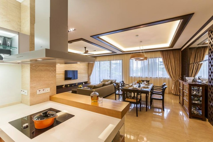 Contemporary, Modern, Resort Design - Kitchen - Condominium - Design by HabitatOne Concepts