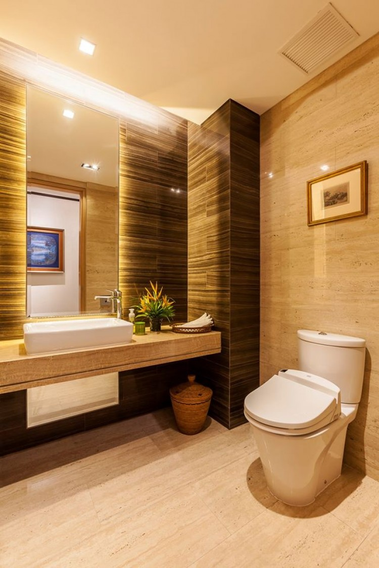 Contemporary, Modern, Resort Design - Bathroom - Condominium - Design by HabitatOne Concepts