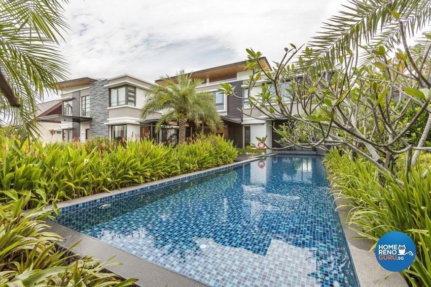 Modern Design - Garden - Landed House - Design by HabitatOne Concepts