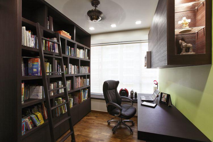 Contemporary, Modern Design - Study Room - Condominium - Design by HabitatOne Concepts