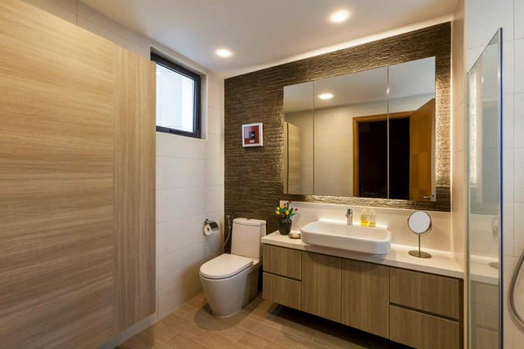 Contemporary, Modern Design - Bathroom - Condominium - Design by HabitatOne Concepts