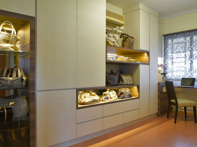 Contemporary, Modern Design - Study Room - HDB Executive Apartment - Design by HabitatOne Concepts