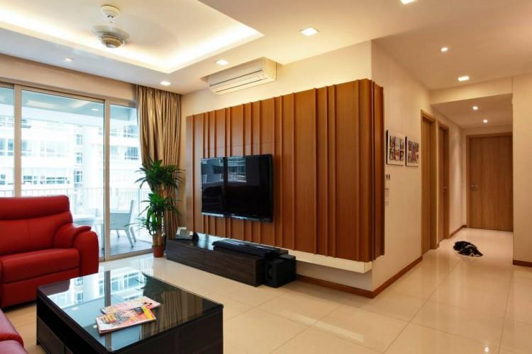 Contemporary, Modern, Resort Design - Living Room - Condominium - Design by HabitatOne Concepts