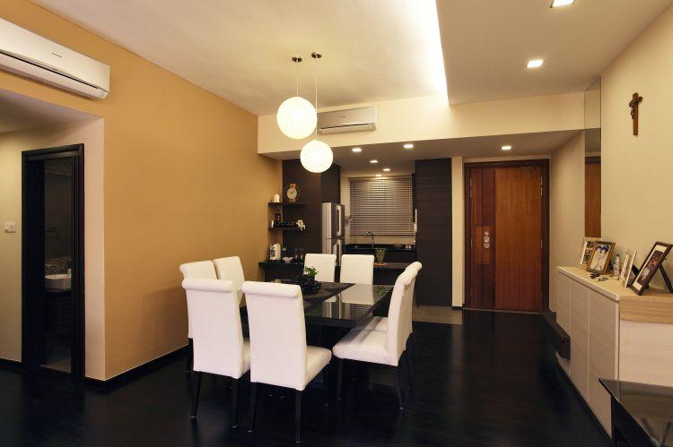 Modern, Tropical Design - Dining Room - Condominium - Design by HabitatOne Concepts