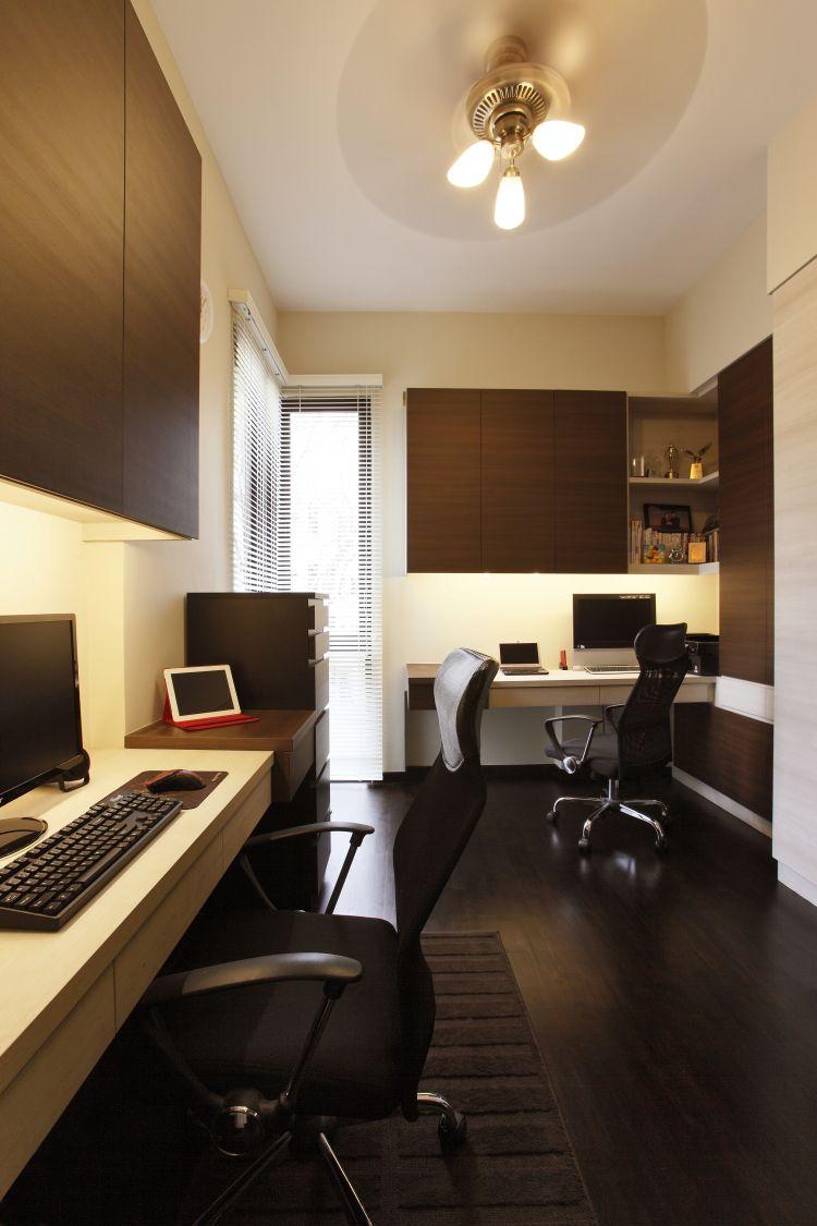 Modern, Tropical Design - Study Room - Condominium - Design by HabitatOne Concepts