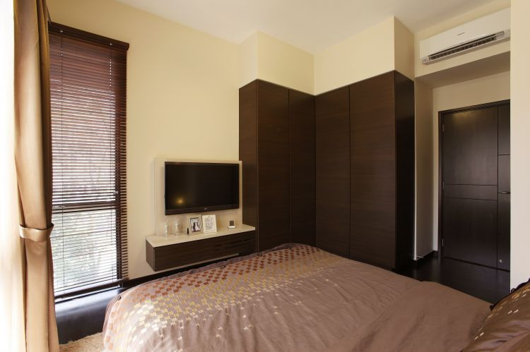 Modern, Tropical Design - Bedroom - Condominium - Design by HabitatOne Concepts