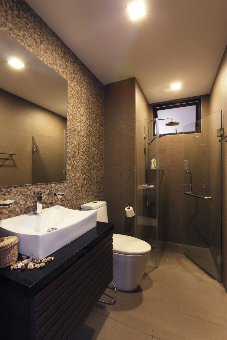 Modern, Tropical Design - Bathroom - Condominium - Design by HabitatOne Concepts