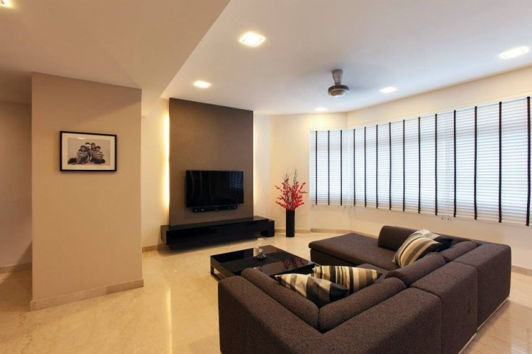 Contemporary, Modern Design - Living Room - Condominium - Design by HabitatOne Concepts