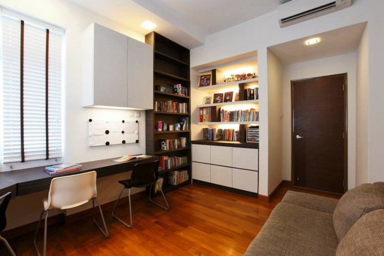 Contemporary, Modern Design - Study Room - Condominium - Design by HabitatOne Concepts