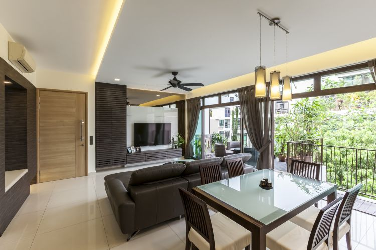 Contemporary, Modern Design - Dining Room - Condominium - Design by HabitatOne Concepts
