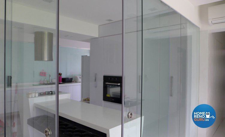 Minimalist, Modern Design - Kitchen - HDB 5 Room - Design by Happy Lodge Renovation