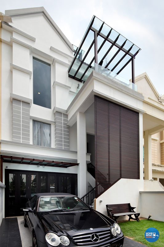 Contemporary, Modern Design - Balcony - Landed House - Design by HC Interior