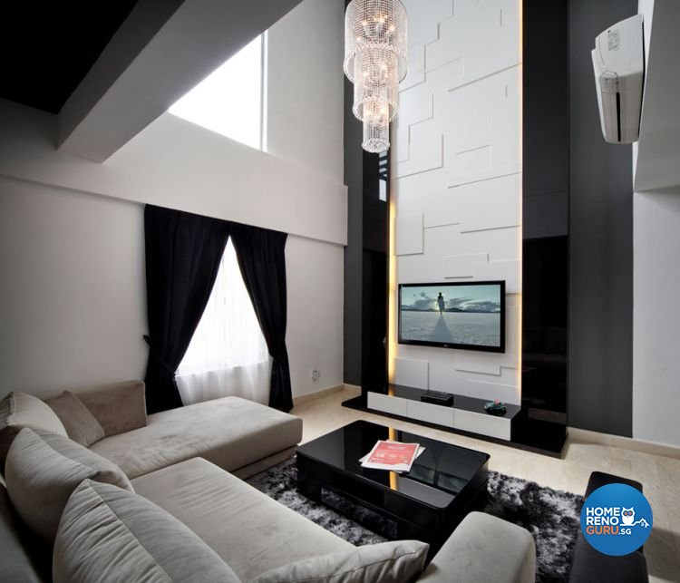 Contemporary, Modern Design - Living Room - Landed House - Design by HC Interior