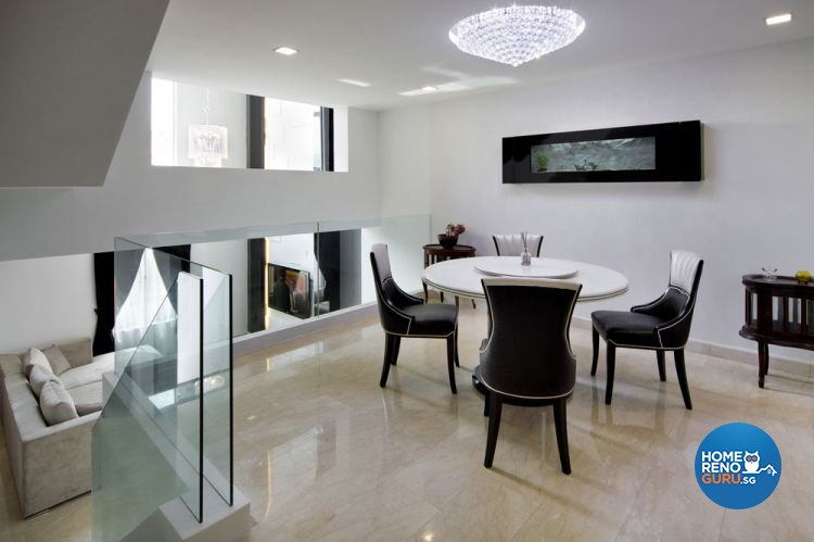 Contemporary, Modern Design - Dining Room - Landed House - Design by HC Interior